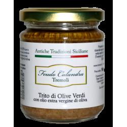 Trito di olive verdi